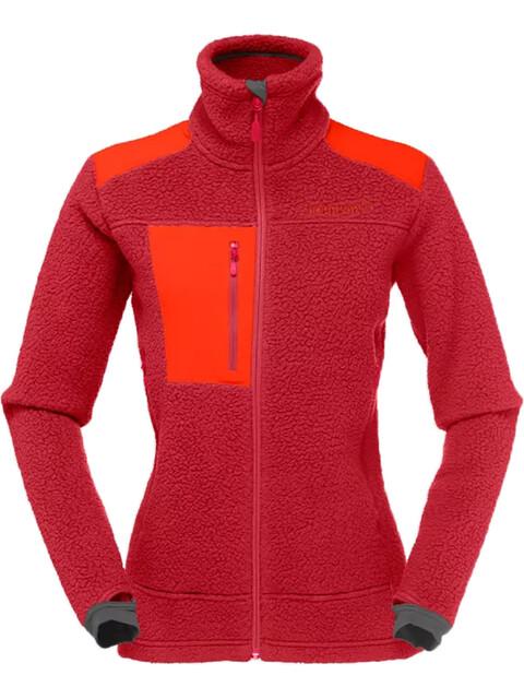 Norrøna W's Trollveggen Thermal Pro Jacket Jester Red
